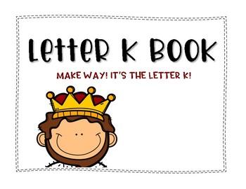 Letter K Book