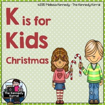 Letter K is for Kids {Christmas}