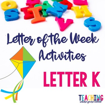 Letter Kk Activity Pack