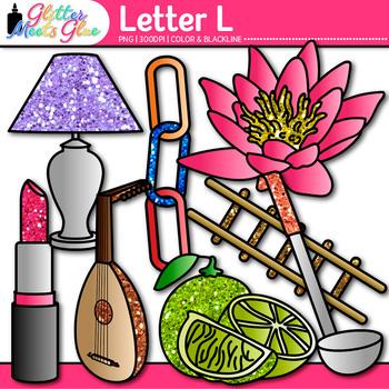 Letter L Alphabet Clip Art {Teach Phonics, Recognition, an
