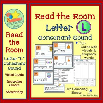 Letter L Consonant Sound Read the Room