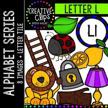 Letter L {Creative Clips Digital Clipart}