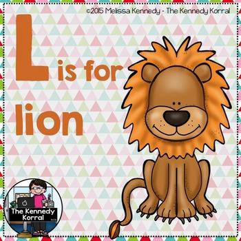Letter L is for Lion