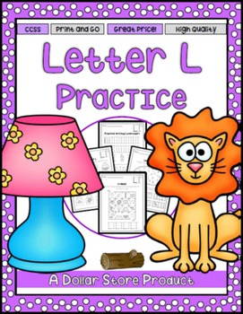 Letter L Practice Printables