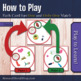 """Letter L Sound Matching Game SHOUT OUT; 31, 3"""" cards; reco"""