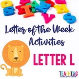 Letter Ll Activity Pack