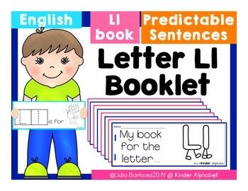 Letter Ll Booklet- Predictable Sentences