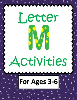 Letter M Activities- 46 Pages! {Common Core}