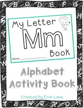 Letter M: Alphabet Activity Book