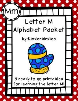 Letter M Alphabet Packet
