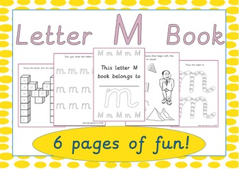 Letter M Book