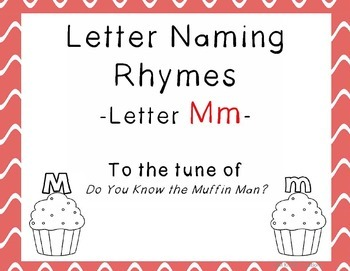 Letter M Rhyme