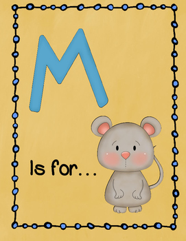 Letter M Story and Writing Practice