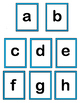 """""""Letter Match!"""" -- Group Game for Upper Case and Lower Cas"""