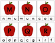 Letter Matching Cards: Apples