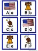 Letter Matching Puzzles - America {Uppercase and Lowercase