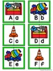 Letter Matching Puzzles - Building Crew {Uppercase and Low