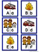 Letter Matching Puzzles - Fire Crew {Uppercase and Lowerca