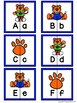 Letter Matching Puzzles - Go Tigers! {Uppercase and Lowerc