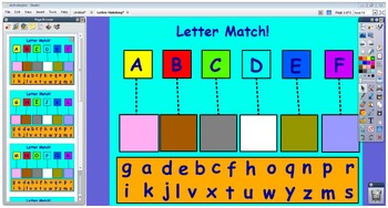 Letter Matching for the Promethean