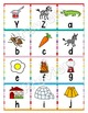Letter Matching with Pictures, Letter Recognition and Iden