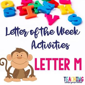 Letter Mm Activity Pack