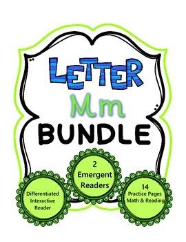 Letter Mm Bundle - Activities