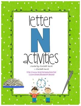 Letter N Activities
