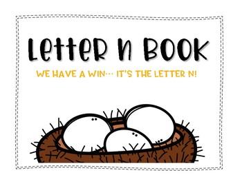 Letter N Book