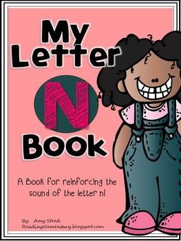 Letter N Book of Beginning Sounds-Emergent Reader w/Runnin