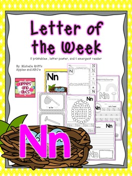 Letter N {Letter of the Week}