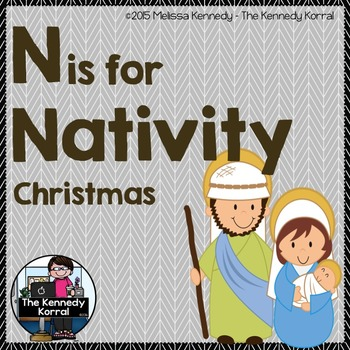 Letter N is for Nativity {Christmas}