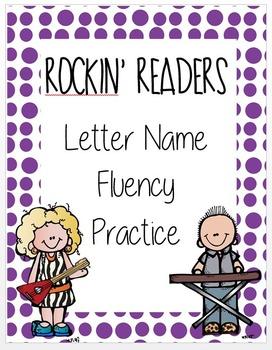 Letter Name Fluency Assessments