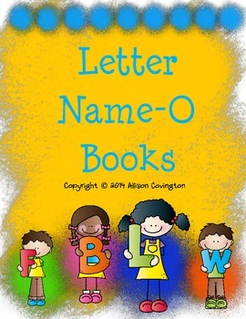 Letter Name-O Books