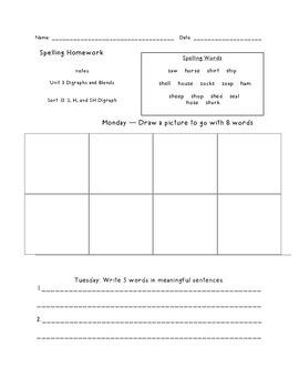 Letter Name Unit 3 Homework