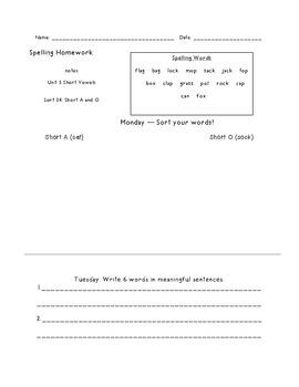 Letter Name Unit 5 Homework