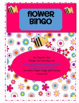 Letter Name and Letter Sound Bingo Game for Alphabet Lette