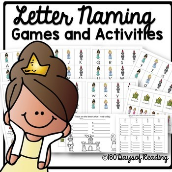 Letter naming and sound fluency review