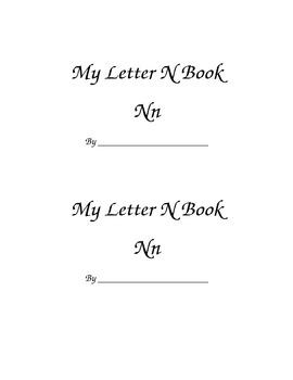 Letter Nn Printable Book