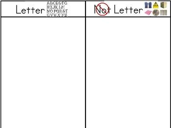 Letter Not Letter Sorting