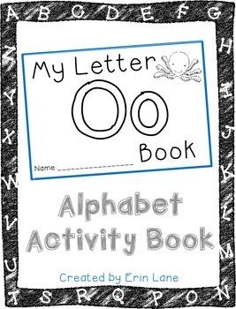 Letter O: Alphabet Activity Book