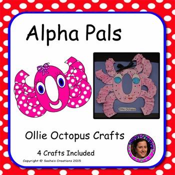 Letter O Alphabet Craft: Ollie Octopus Alpha Pal