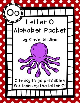 Letter O Alphabet Packet