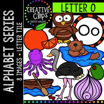 Letter O {Creative Clips Digital Clipart}