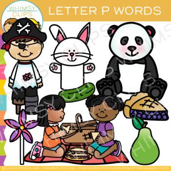 Letter P Alphabet Clip Art
