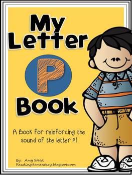 Letter P Book of Beginning Sounds-Emergent Reader w/Runnin