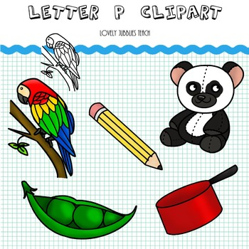 Letter P Clip Art