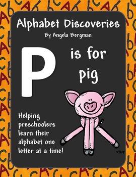 Letter P ~ Preschool Unit