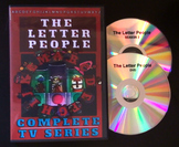The Original Letter People DVD - Complete Series - Alphabe