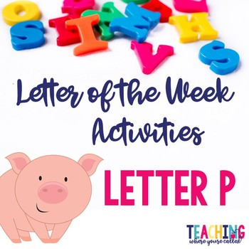 Letter Pp Activity Pack